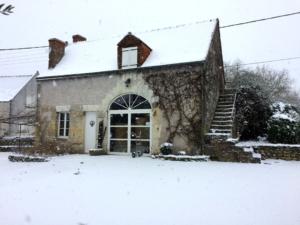 la Croix Mélier - Caveau sous la neige