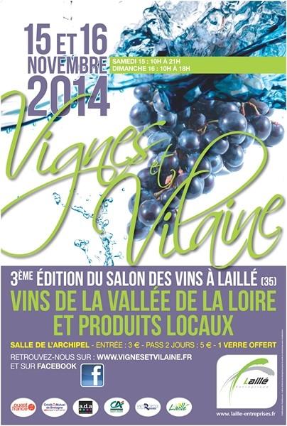 Affiche Vignes et Vilaine