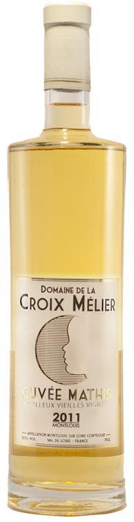 Montlouis blanc moelleux La Croix Mélier - cuvée Mathis 2011