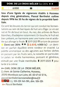 Sélection guide Hachette 2017