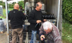 Mise en bouteilles millésime 2016 Domaine La Croix Mélier