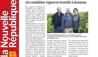 Article NR La Croix Mélier 09-2017
