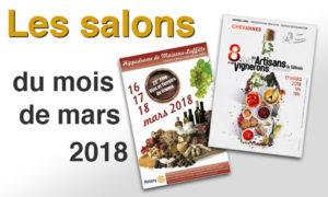 Salons mars 2018 La Croix Mélier