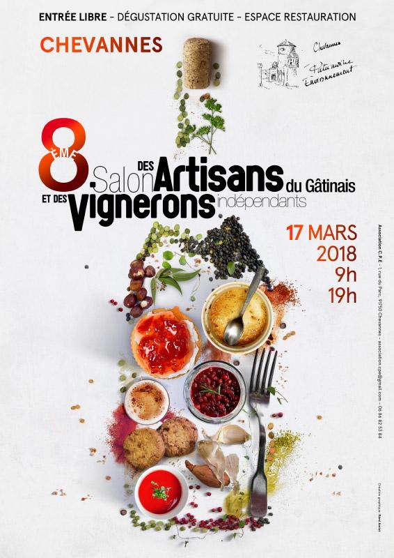 8ème salon des artisans du Gâtinais et des Vignerons Indépendants
