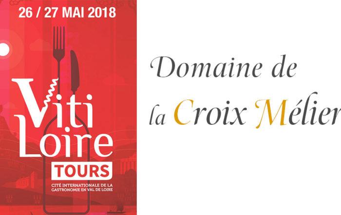 Salon Vitiloire 2018 - La Croix Mélier